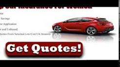 Car Insurance from £185 - Aviva