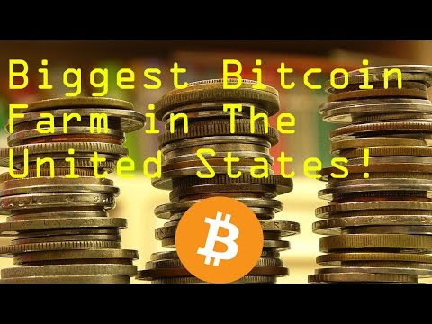 Biggest Bitcoin Farm in The United States! - Nothing You Have ever seen!