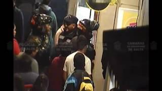 Video: Detenidos por intentar robar un celular en el centro de Salta