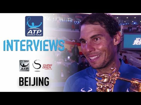 Nadal Reflects On Second China Open Title Beijing 2017