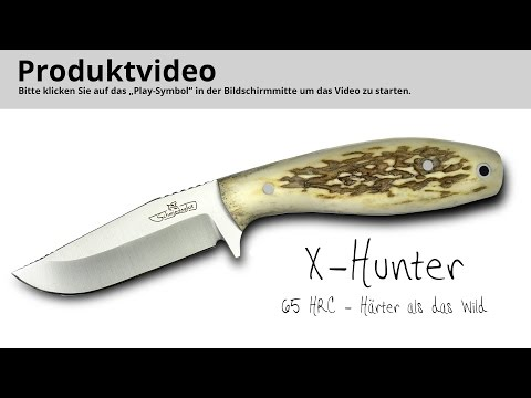 X-Hunter Im Härtetest & Schärfen Der 64-65 HRC Harten Klinge