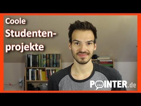 Patrick vloggt - Coole Projekte von Studenten