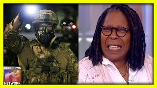 Whoopi Goldberg FREAKS OUT on 'The View' After Trump Announces Federal Intervention in Portland