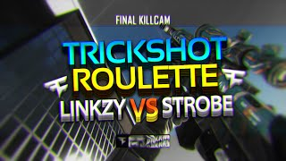 FaZe Strobe - Trickshot Roulette #4 with FaZe Linkzy! (LEAVING FAZE)