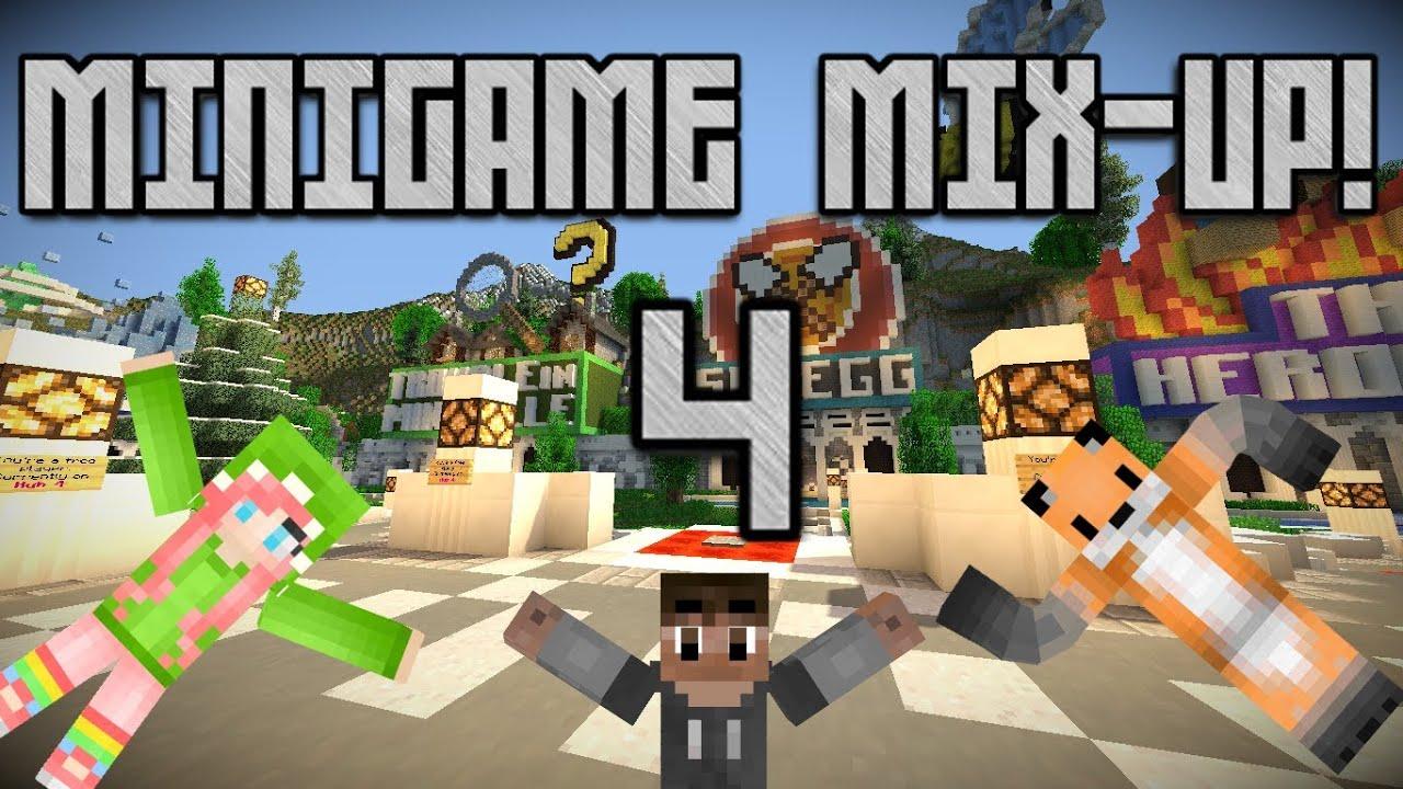 Download MINIGAME MIX-UP! w/ jona724 & CanadiansRule!! (MINEPLEX MADNESS!)