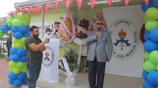 Çanakkale ÇEMLİS-DER  Sosyal Tesisleri Açılışı.Çanakkale Belediye Başkanı Ülgür Gökhan Konuşması.