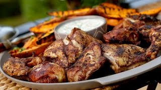 Beth's Grilled Chicken With Sweet Potatoes  (summer Entertaining Collab With Rachel Talbott!)