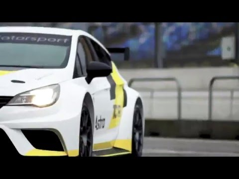 Opel Motorsport worldwide I Pre-Season Testing I Fine-tuning for the Opel Astra TCR
