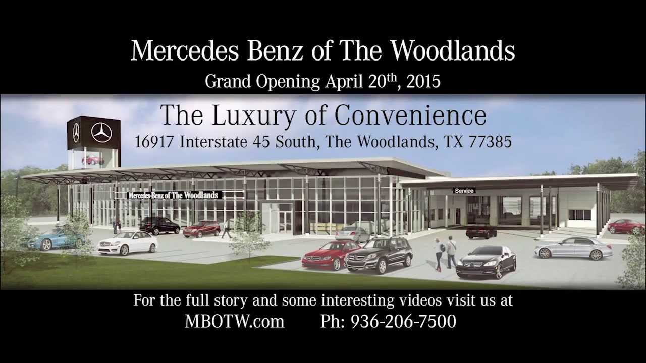 Mercedes benz of the woodlands about us youtube for Mercedes benz of the woodlands