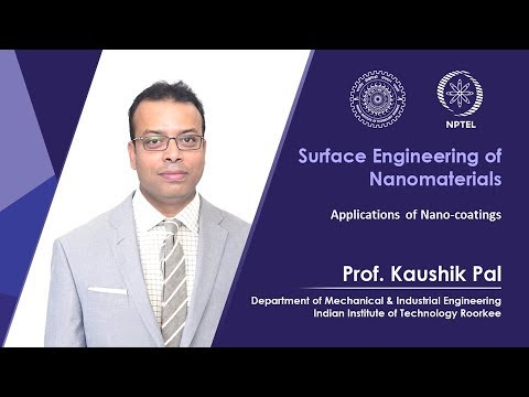 Lecture 20-Applications of Nano coatings