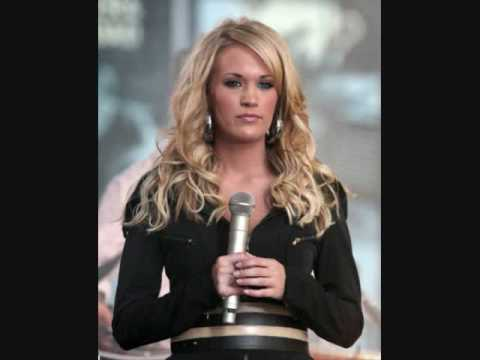 I told you so  Carrie Underwood