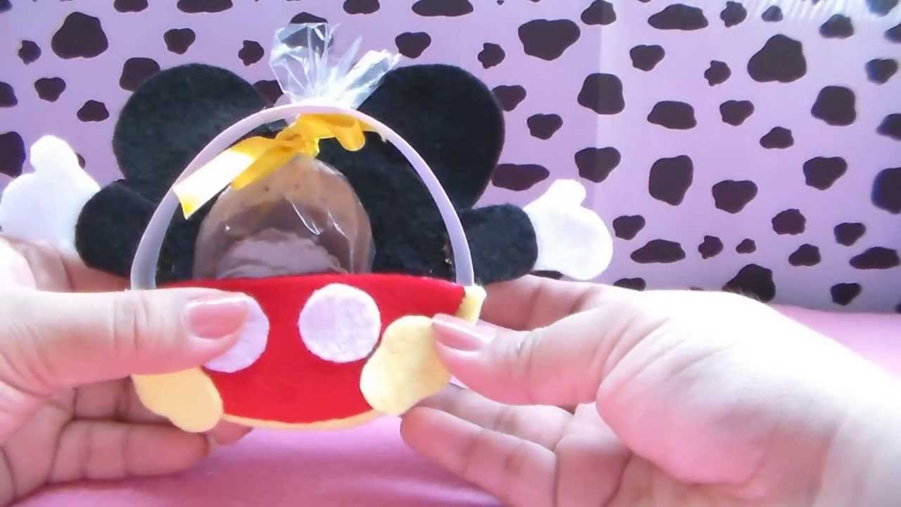 Recuerdo de mickey mouse youtube - Domo bebe ...