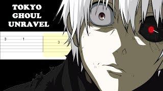 Tokyo Ghoul - Unravel (Easy Guitar Tabs Tutorial)
