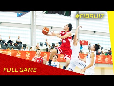 Chinese Taipei v Egypt - Full Game - 2016 FIBA U17 World Championship