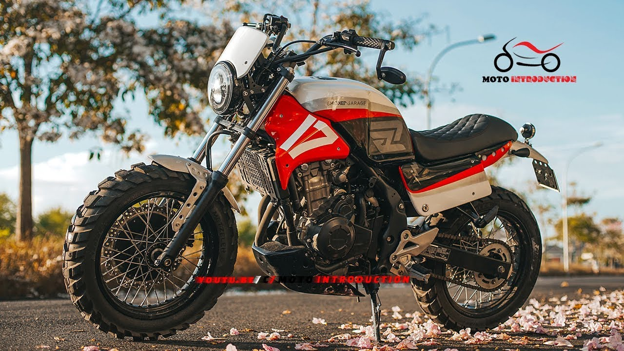 New Honda Cb500x Off Road Racer New Honda Cb500x Custom By Smoked Garage Youtube