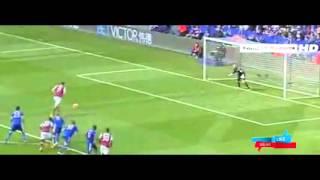 Leicester City vs West Ham 1-2 2016 Andy Carroll Goal