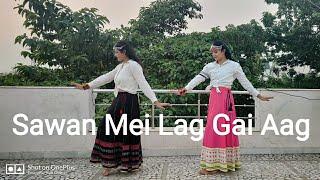 Sawan Mein Lag Gayi Aag |Palak & Priyanshi Choreography |Mika, Neha & Badshah