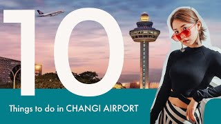 10 Things to Do In Changi Airport | Kryz Uy