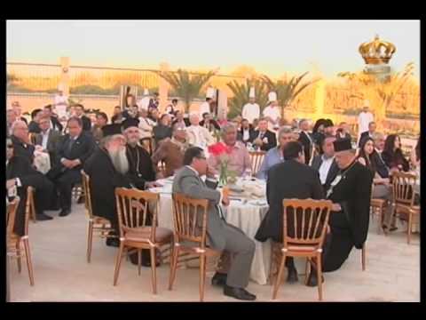 English News at ten in Jordan Television 15-05-2014