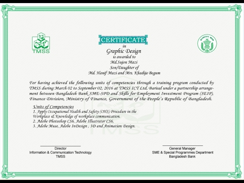 how to design a certificate using adobe photoshop