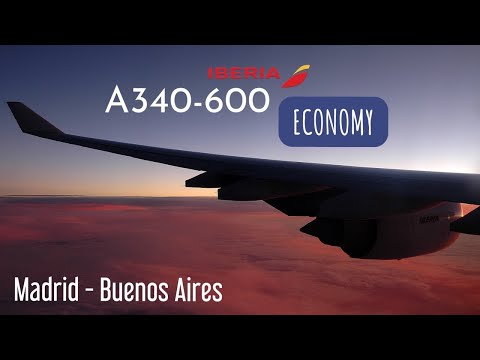 Iberia | Madrid to Buenos Aires | IB 6845 | Flight Experience ✈