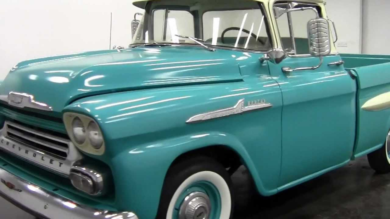 1958 chevy fleetside truck