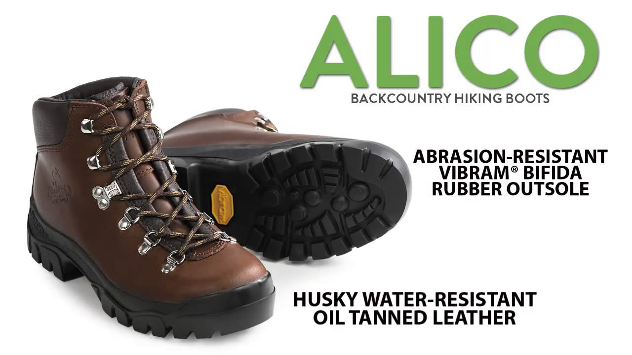 Alico Backcountry Hiking Boots Leather For Men Youtube