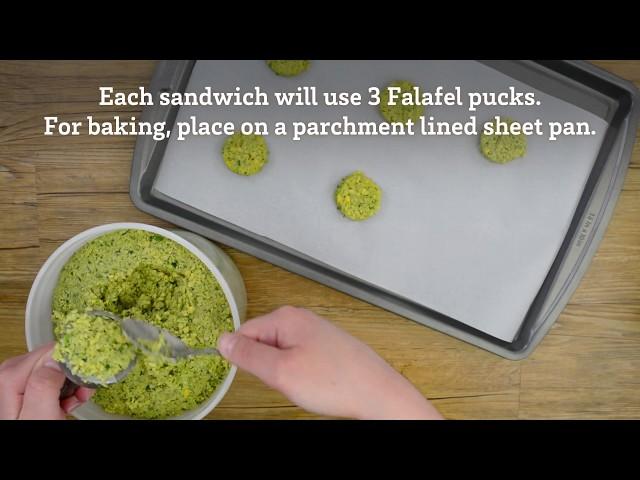 Falafel Cooking and Handling Video