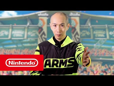 "ARMS – ""Lola Pop""-Gameplay - gamescom 2017 (Nintendo Switch)"