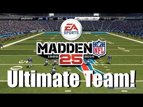 Madden 25 Ultimate Team - 50k Card Game + Abuse Thurman Thomas!