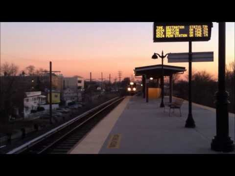 LIRR Rush Hour Trains At Saint Albans
