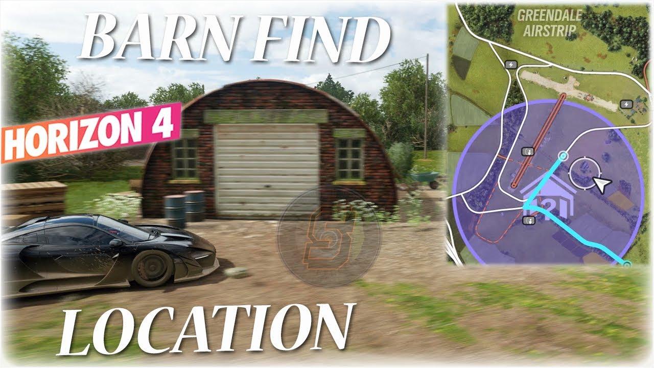 Forza Horizon 4 Greendale Airstrip Barn Find Location Forza Horizon