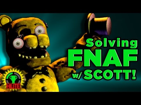 GTLive: FNAF Theorists SURPRISED BY SCOTT! (HIGHLIGHTS)