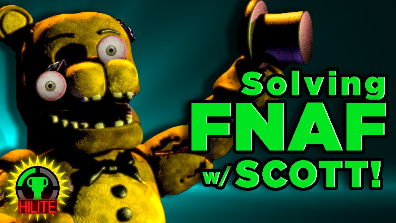 Gtlive Fnaf Theorists Surprised By Scott Highlights