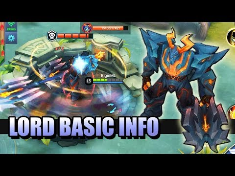 LORD 101 👨🏫 BASIC INFORMATION ABOUT THE LORD