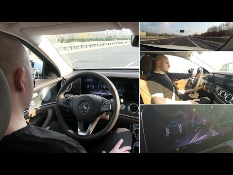 Active Emergency Stop Assist in Mercedes-Benz E-Class - real test :: [1001cars]