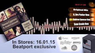 Steve Cypress ft  Andre Carswell - Think About U (All Mixes Preview Video)