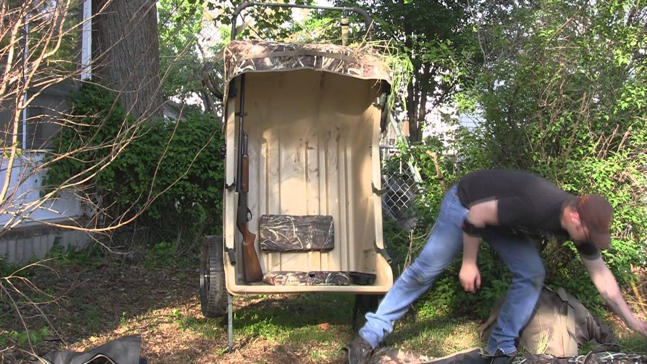 Product Review: Ducks and Bucks Cart Blind - YouTube
