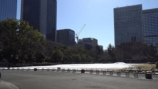 NTT都市開発 新橋一丁目プロジェクトの建設状況(2018年1月27日)