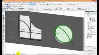 Нестандартное окно за 1 минуту в ArchiCad. Плагин Archi Glazing