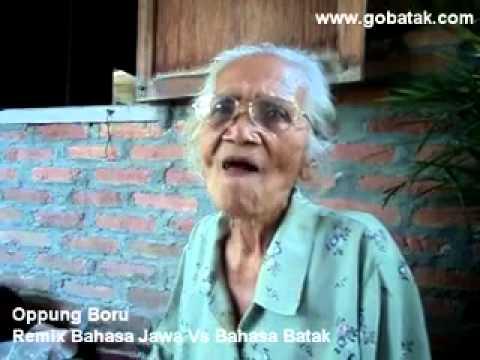 Oppung Boru Berbahasa Jawa Vs Bahasa Batak