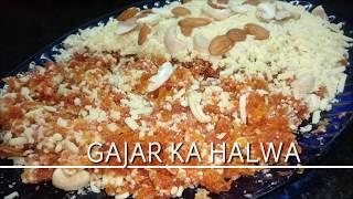 Gajar ka Halwa - Winter Special   Halwai se behtar Halwa banae ghar par   Easy India Carrot Dessert