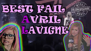 Avril Lavigne sining without phonogramme BEST FAIL EVER REAL GREAT VOICE OF AVRIL LAVIGNE