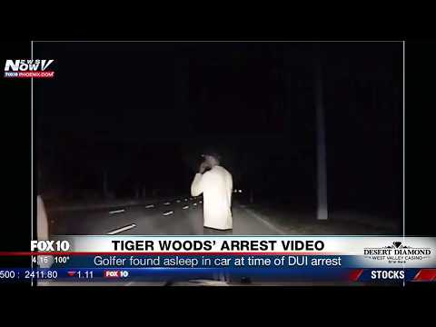 BREAKING: Tiger Woods Arrest Video For Alleged DUI