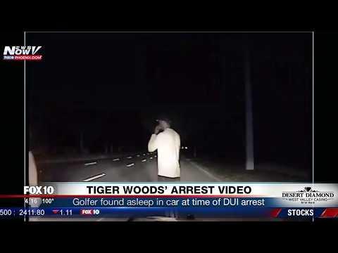 BREAKING: Tiger Woods Arrest Video For Alleged DUI FNN