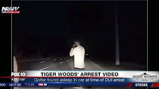 BREAKING: Tiger Woods Arrest Video For Alleged DUI (FNN)