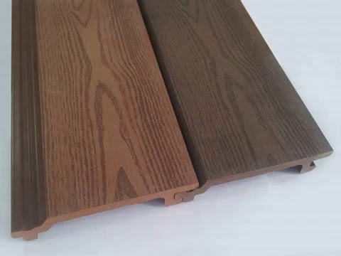 Plastic Wood Pvc Wall Panel In Berlin Germany Youtube