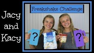 Freakshake Challenge ~ Jacy and Kacy