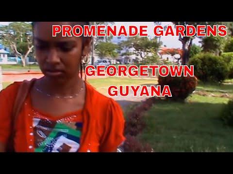 GUYANA Vacation 2014 - Visiting The PROMENADE GARDENS Georgetown Guyana