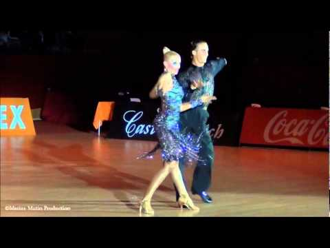 Salou 2011, International Open Latin - solo Chacha: Gabriele Goffredo & Anna Matus